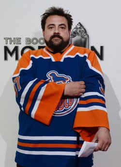 """Kevin Smith attends """"The Book of Mormon"""" premiere in Los Angeles"""