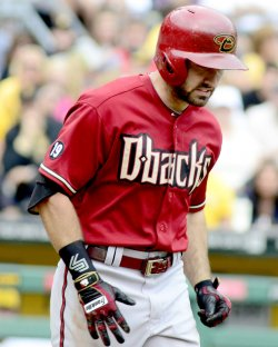 Arizona Diamondbacks Adam Eaton in Pittsburgh