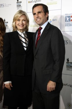 "Diane Sawyer and Bob Woodruff arrive for the ""Stand Up For Heroes"" Benefit in New York"