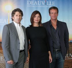 """The team for """"Morning"""" arrives at American Film Festival in Deauville"""