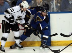 Los Angeles Kings vs St. Louis Blues in Game 5 of Western Conference Quarterfinals