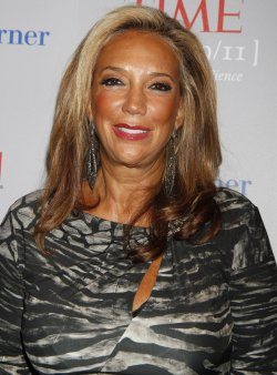 "Denise Rich arrives for the ""Beyond 9/11 - Portraits of Resilience"" Photo Exhibit and Screening in New York"