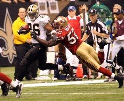 NFL Football New Orleans Saints vs San Francisco 49ers