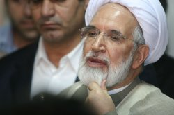 IRAN'S LEADERS REGISTER FOR THE PRESIDENCY