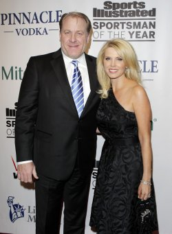 Curt Schilling and Shonda Schilling at the 2010 Sports Illustrated Sportsman of the Year CelebrationNew York