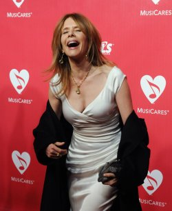 Rosanna Arquette attends the MusiCares Person of the Year gala in Los Angeles