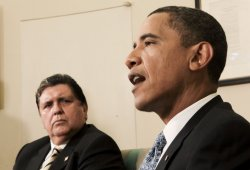 President Alan Garcia of Peru meets with U.S. President Obama in Washington