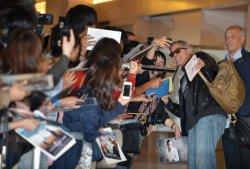 George Clooney arrivals at Tokyo