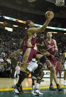 Cleveland Cavaliers vs Seattle SuperSonics