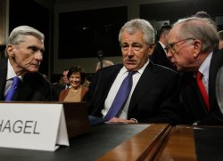 Senate Armed Services Committee holds a hearing on the nomination of Chuck Hagel to become Secretary of Defense