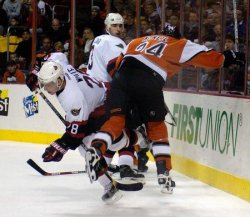 O)ttowa Senators at Philadelphia Flyers NHL