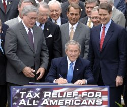 PRESIDENT BUSH SIGNS TAX RELIEF EXTENSION
