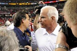 The Atlanta Falcons play the St. Louis Rams