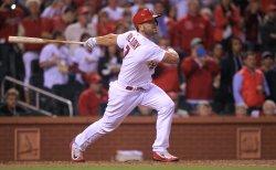 St. Louis Cardinals Matt Holliday hits solo home run