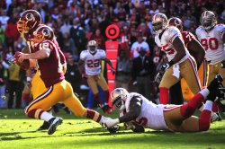 Redskins quarterback John Beck is sacked in Maryland