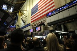 NYSE Euronext Commemorate 10th Anniversary of 9/11 on Wall Street in New York