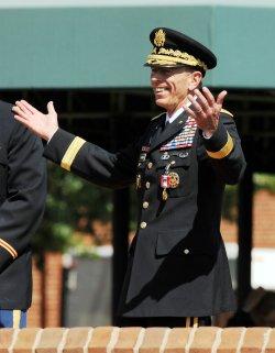 Gen. Petraeus retires in Virginia