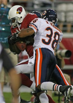 CHICAGO BEARS VS ARIZONIA CARDINALS