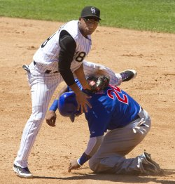 The Rockies Host the Cubs at Coors Field in Denver