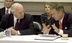 Cheney Meets With Senate Centrists on Engery Issues