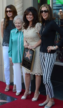 Valerie Bertinelli receives a star on the Hollywood Walk of Fame in Los Angeles