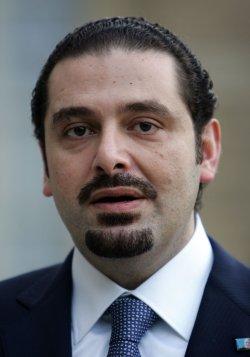 Lebanese PM Hariri in Paris