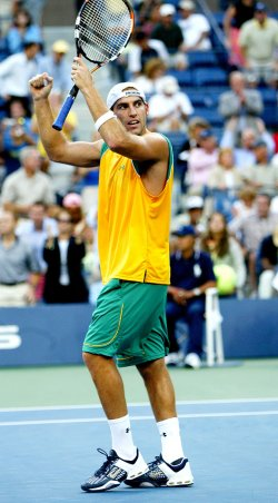 GINEPRI DEFEATS CORIA AT US OPEN