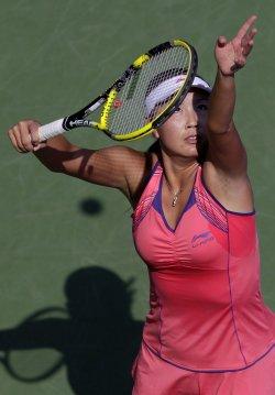 Shuai Peng at the U.S. Open Tennis Championships in New York