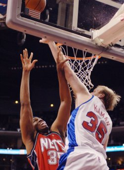 LOS ANGELES CLIPPERS VS NEW JERSEY NETS
