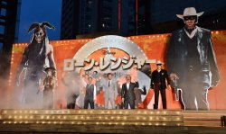 """The Lone Ranger"" Japan premiere"