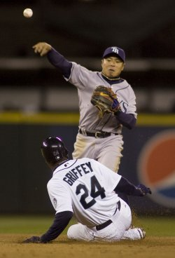 Tampa Bay Rays vs Seattle Mariners in Seattle
