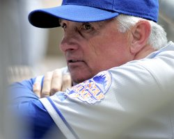 New York Mets manager Terry Collins in Pittsburgh