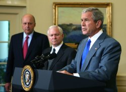 Bush signs war funding bill in Washington