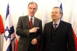 Polish Prime Minister Donald Tusk in Jerusalem with Israeli Prime Minister Benjamin Netanyahu in cabinet meeting