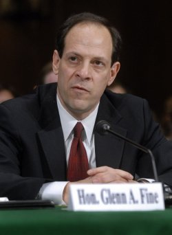 FBI INSPECTOR GEN. FINE TESTIFIES CAPITOL HILL IN WASHINGTON