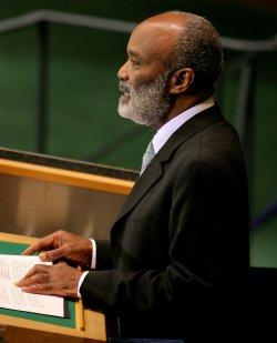 Haiti President Preval addresses General Assembly at United Nations