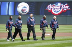 Puckett, Olivia, Hrbek, Carew and Killebrew honored by Twins at opener in Minneapolis