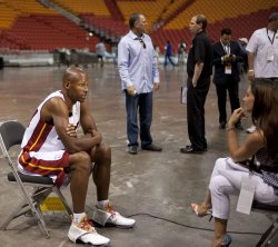 NBA Champion Miami Heat Media Day, Miami, Florida
