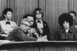 Angela Davis and her lawyers