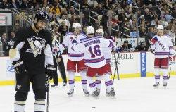 New York Rangers vs Pittsburgh Penguins