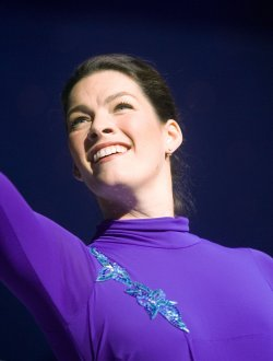 Nancy Kerrigan performs at Boulevard Casino near Vancouver