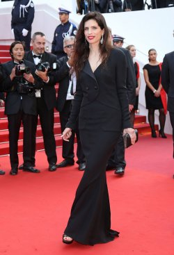 Maiwenn attends the Cannes Film Festival