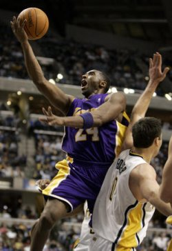 LOS ANGELES LAKERS VS INDIANA PACERS