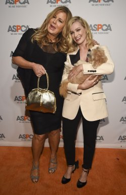 Jennifer Coolidge and Beth Behrs attend the ASPCA Los Angeles Benefit in Los Angeles, California