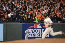 Detroit Tigers vs. San Francisco Giants Game 1 World Series