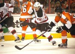 New Jersey Devils-Philadelphia Flyers playoffs in Philadelphia