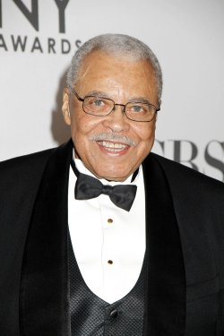 James Earl Jones arrives for the 2012 Tony Awards in New York