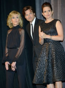 Tina Fey, Jane Fonda and Jason Bateman attend 'This Is Where I Leave You' world premiere at the Toronto International Film Festival