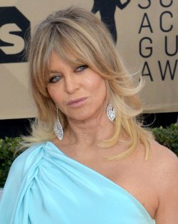 Goldie Hawn attends the 24th annual SAG Awards in Los Angeles