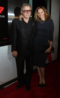 """Harvey Keitel arrives for the premiere of """"Catfish"""" at the Paris Theatre in New York"""